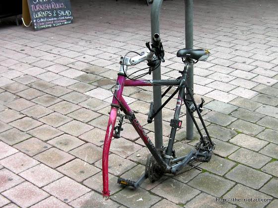 derelict bike