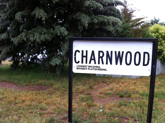 charnwood - lowest incomes, biggest flatscreens