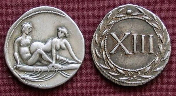 Sex on Roman Coins