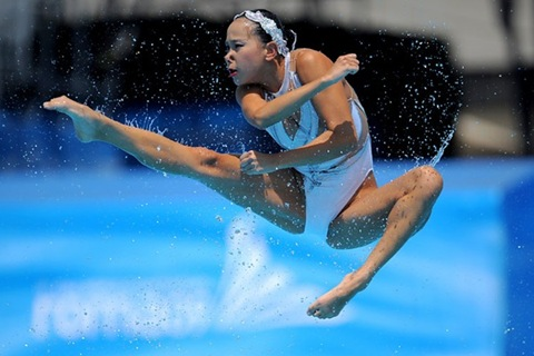 chinese water sportswoman