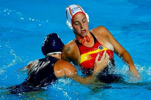 Maica Garcia (Spain), Heather Petri (USA)