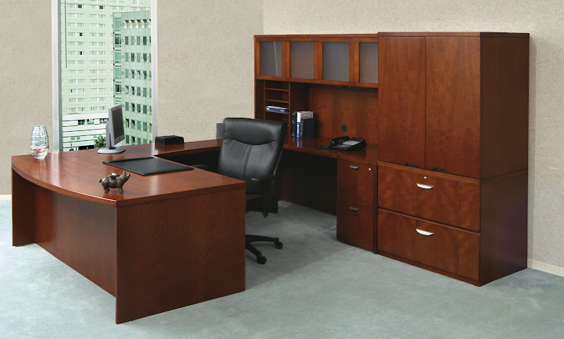 Mayline Mira Transitional Office Furniture