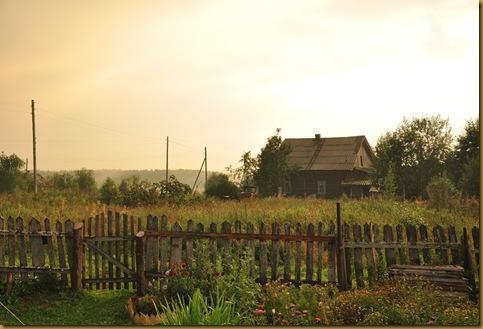 Деревня после дождя