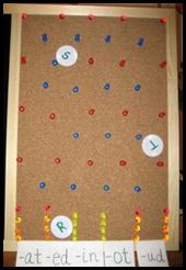 Word Link-O Board