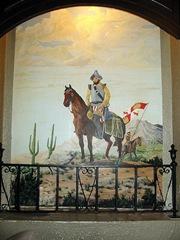 Dining Room mural-2 Gadsden Hotel