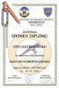 Spomen diploma, Mali Lošinj, Osoršćica 14. - 16.05.2004.