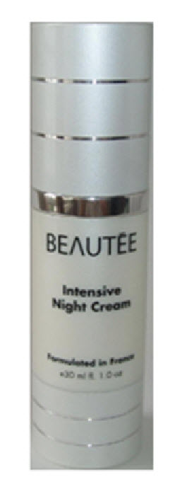 beautee intensive night cream