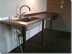 自然素材の家 キッチン