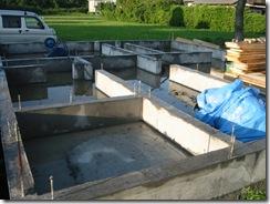 土壁の家 型枠解体
