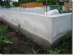 土壁の家 基礎補修