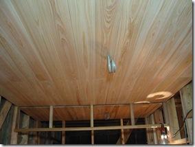 自然素材 桧天井板