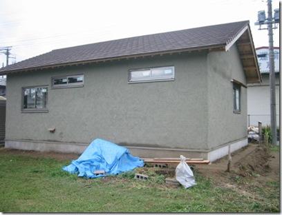 土壁の家 乾燥