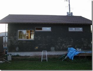 土壁の家 一面終了