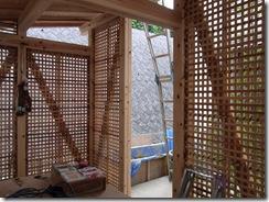 自然素材の家 木小舞