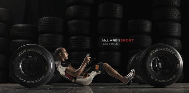 Льюис Хэмилтон McLaren Sport