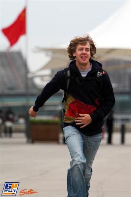 Себастьян Феттель Гран-при Китая 2010