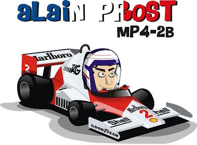 Алан Прост MP4-28