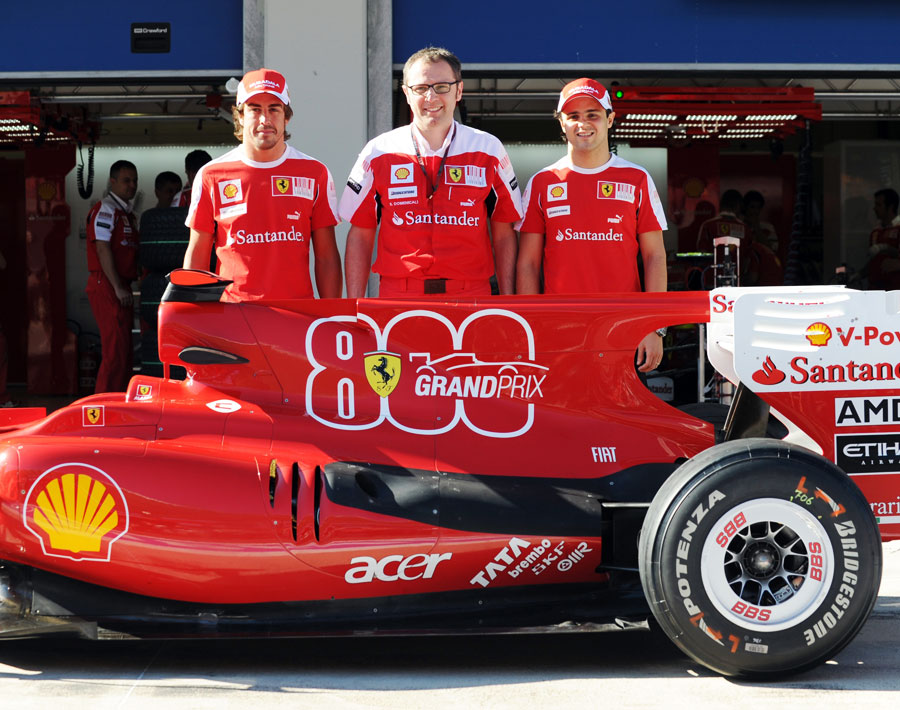 800-ый Гран-при Скудерии Феррари