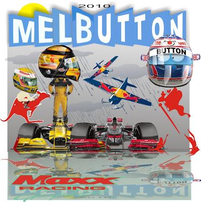 Дженсон Баттон Роберт Кубица Льюис Хэмилтон на Гран-при Австралии 2010