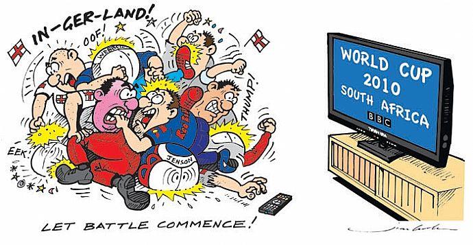 сражение Германия - Англия