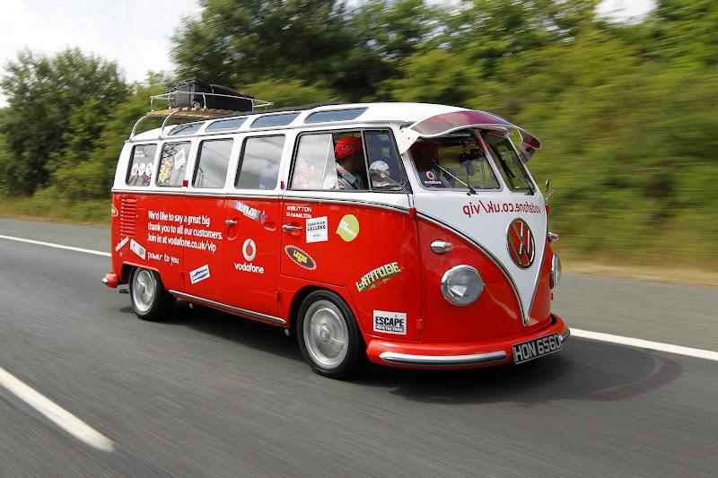 vodafone vip bus