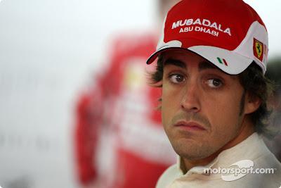Фернандо Алонсо на Гран-при Германии 2010 (пятница)