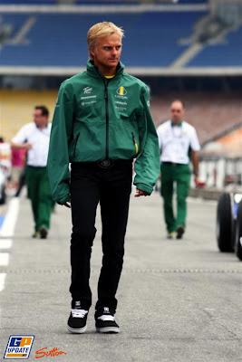 Хейкки Ковалайнен на Гран-при Германии 2010