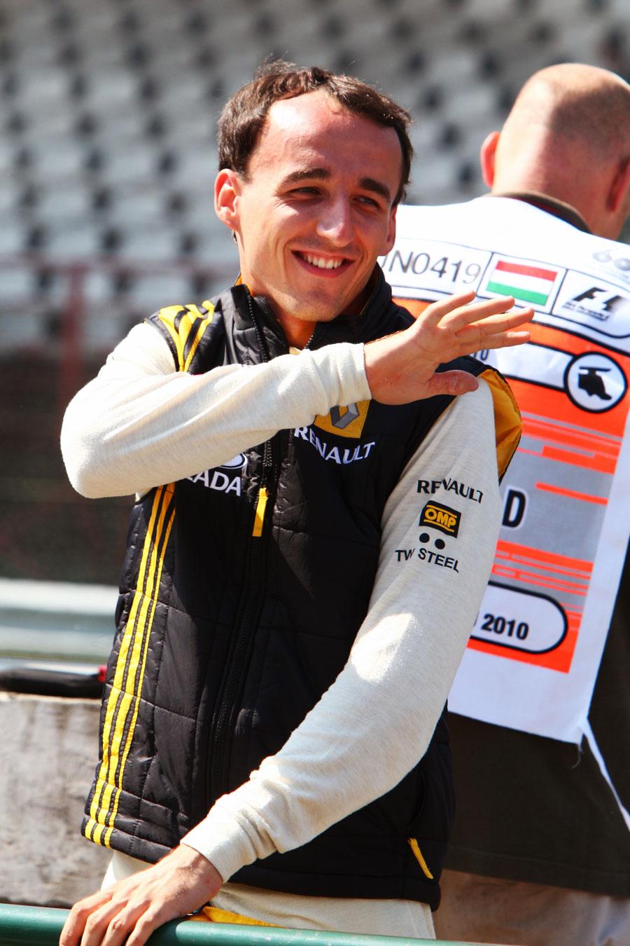 Роберт Кубица на Гран-при Венгрии 2010