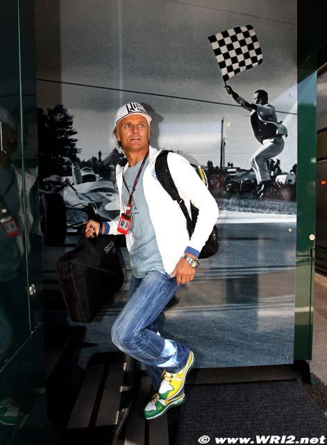 Хейкки Ковалайнен на Гран-при Венгрии 2010