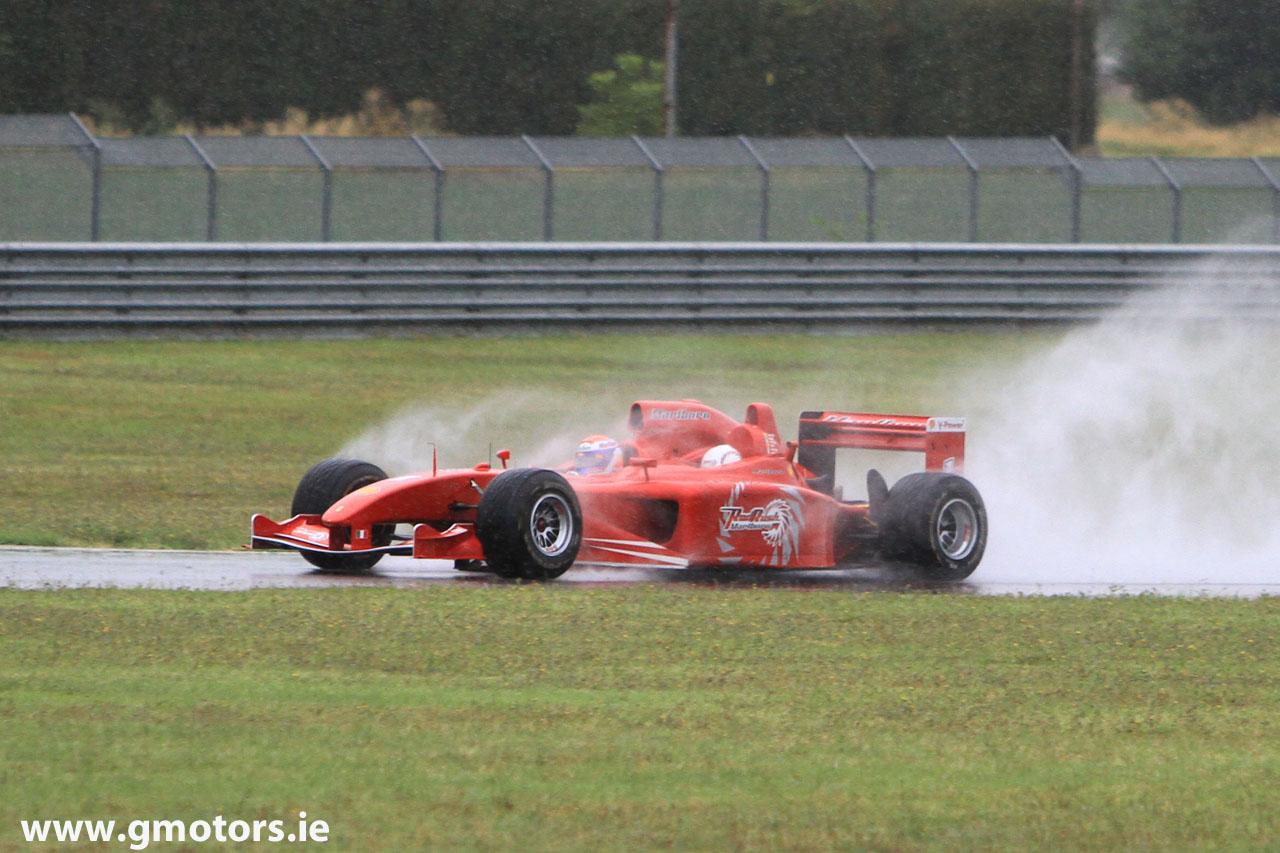 трехместный болид Ferrari тесты во Фьорано