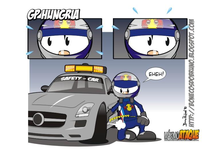 Себастьян Феттель хочет замедлить сэйфти-кар на Гран-при Венгрии 2010