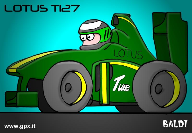 болид 2010 Lotus TI27