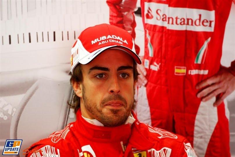 Фернандо Алонсо на Гран-при Италии 2010