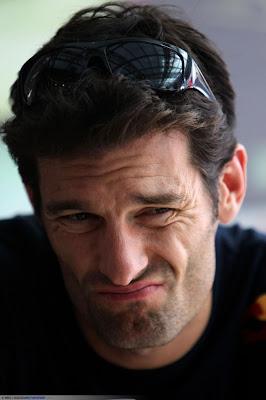 Марк Уэббер на Гран-при Италии 2010