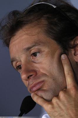 Ярно Трулли на пресс-конференции Гран-при Италии 2010