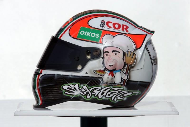 шлем Витантонио Льюцци специально к Гран-при Италии 2010
