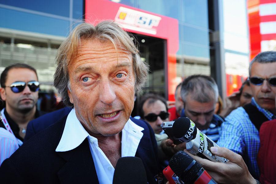 Лука ди Монтедземоло на Гран-при Италии 2010