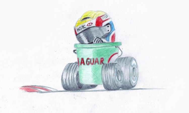 Марк Уэббер на Jaguar
