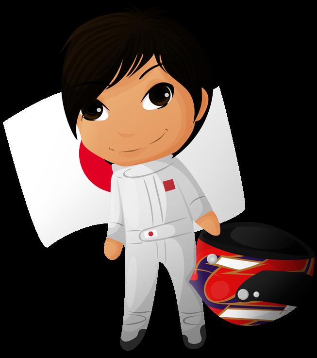 японский гонщик Формулы-1 Камуи Кобаяши