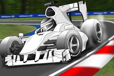 виртуальный болид Формулы-1 2010 года