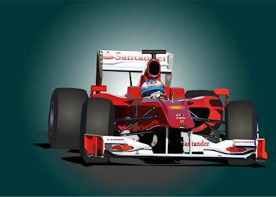 болид Ferrari Фернандо Алонсо