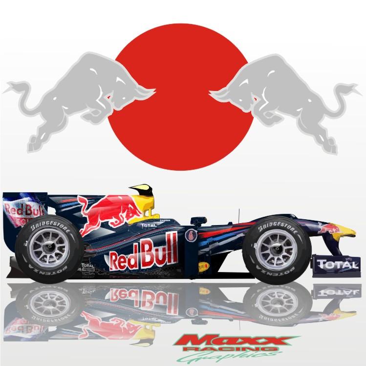 Red Bull на Гран-при Японии 2010