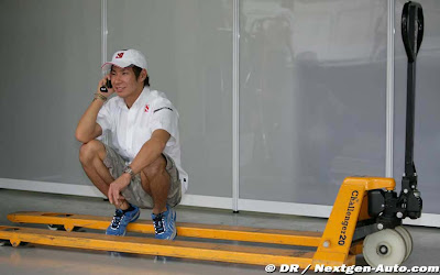 Камуи Кобаяши на Гран-при Бразилии 2010