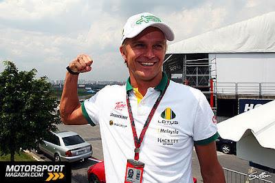 Хейкки Ковалайнен на Гран-при Бразилии 2010