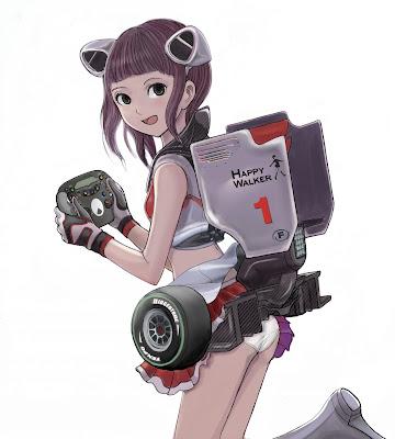 аниме-персонаж McLaren