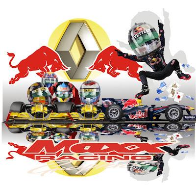 гонщики Renault помогают Себастьяну Феттелю завоевать титул чемпиона на Гран-при Абу-Даби 2010 Maxx Racing
