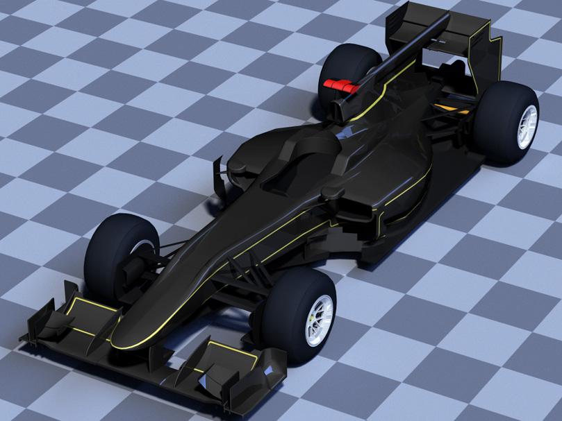 Lotus в классической черно-золотой раскраске