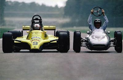 Марк Зурер на ATS и Дэн Герни на Porsche Хоккенхаймринг 1980 год