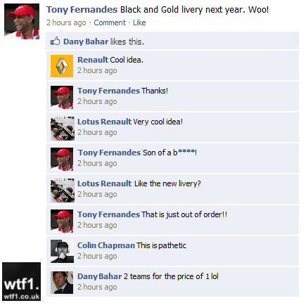 facebook Тони Фернандеса