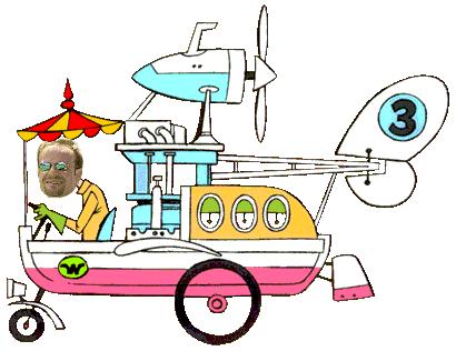Рубенс Баррикелло Wacky Races
